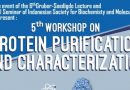 Exclusive Sponsor: 5  th Workshop on Protein Purification and Characterization