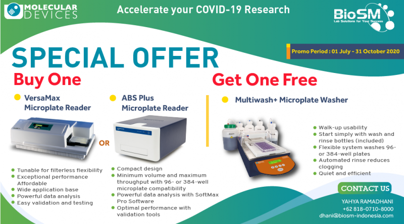 Molecular Devices: SPECIAL OFFER PRODUCT For Accelerate Your COVID-19 Research
